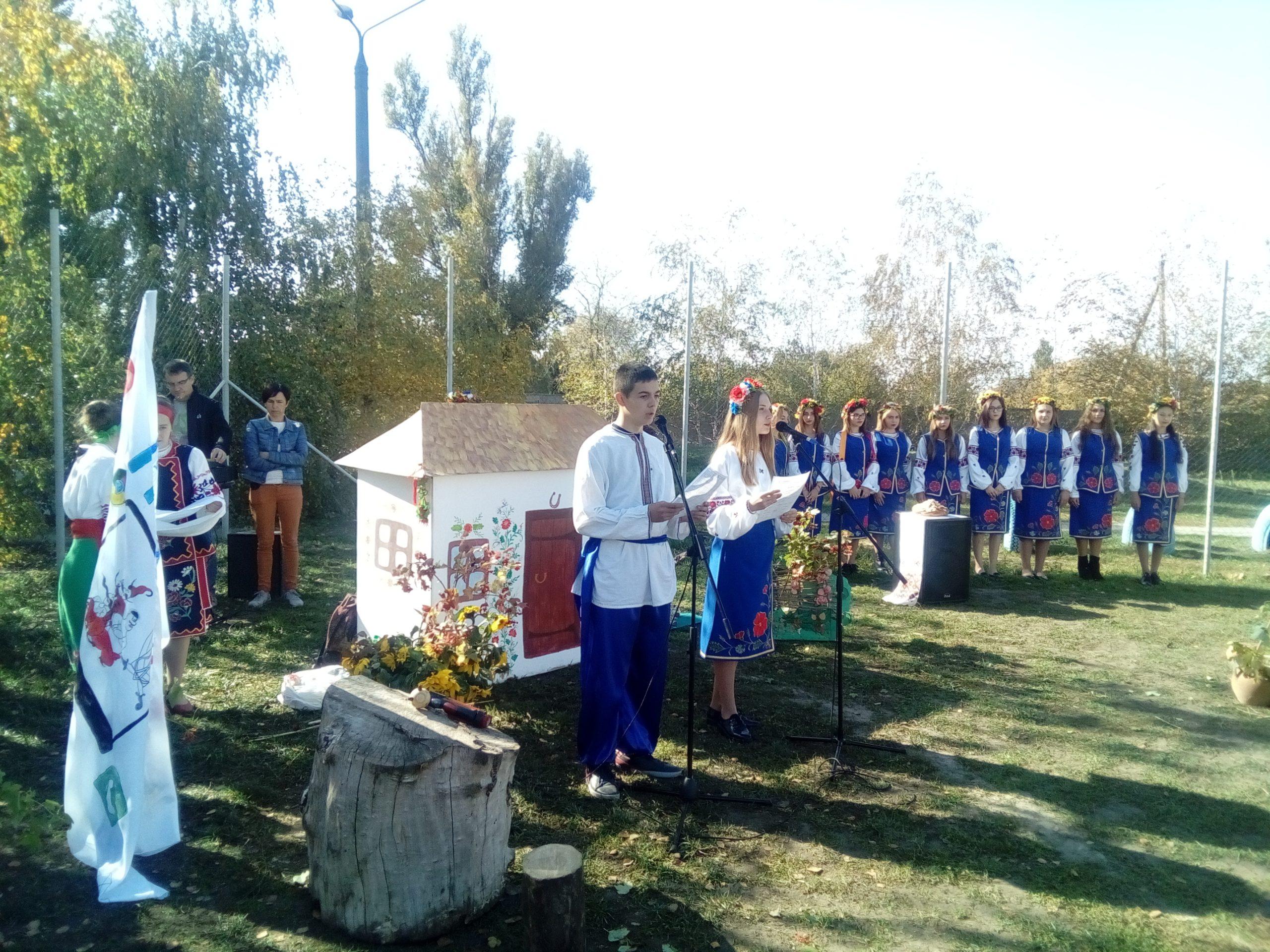 День козацтва у ДНЗ «Михайлівське ВПУ»