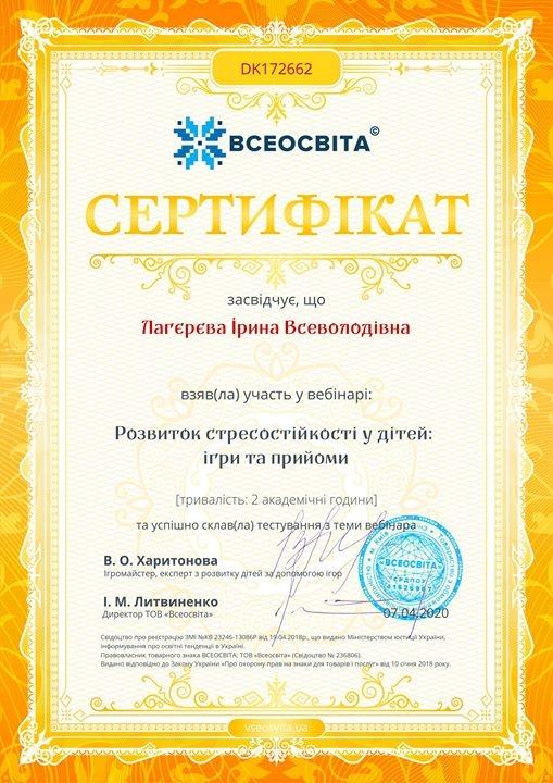 Read more about the article Розвиток стресостійкості